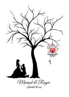 This is a fantastic Canvas Fingerprint Tree alternative to the traditional guest book. It is an interactive and a beautiful Wedding Tree Guest Book keepsake for you to cher. Wedding Tree Guest Book, Guest Book Tree, Tree Wedding, Tree Stencil, Fingerprint Tree, Wedding Silhouette, Wedding In The Woods, Kirigami, Vinyl Lettering