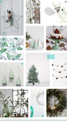 It's another festive post for you today.    Last time we had quite a classic take on Christmas with a red and white moodboard ,    and toda...