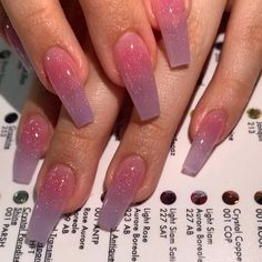 In seek out some nail designs and some ideas for your nails? Here's our list of must-try coffin acrylic nails for stylish women. Summer Acrylic Nails, Best Acrylic Nails, Summer Nails, Glittery Acrylic Nails, Glitter Nails, Pink Acrylic Nail Designs, Blush Nails, Fall Nail Designs, Spring Nails