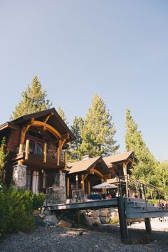 Private Estate Wedding in Tahoe.  Photo Credit: Annie X Photographie