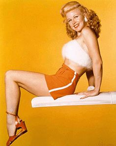 Ginger Rogers - love her.  Need to find my autographed photo of her (written to me :)