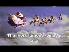 Rudolph the Red Nosed Reindeer LYRICS VIDEO - YouTube