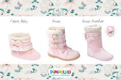 Botas de princesinhas modernas!