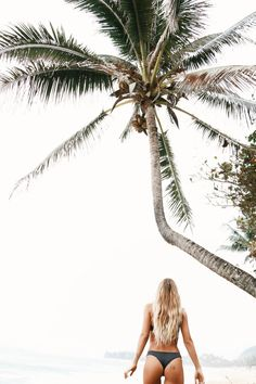 Just one little wonky palm tree & our muse Olive Cooke || Hawaii did us good.