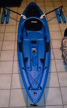 Kayak outrigger project. Looks interesting and you could fold it on top!?