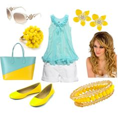 Let the Sun Shine, created by #hailey-ratliff on #polyvore.