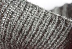 Julia Grau Design: # Bündchen elastisch abketten #
