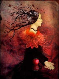 a trifle creepy Autumn by Catrin Welz-Stein