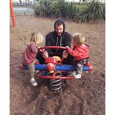 Pin for Later: 14 Pictures of Chris Hemsworth and His Kids That Might Make Your Heart Explode