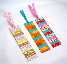 99 Washi Tape Ideas: What Can You Decorate With Them?bookmarks tinker ideas washi tape ideas diy school supplies for teenagers Pencil Washi Tape 15 ideas diy school supplies for ideas DIY school supplies Washi Tape Uses, Washi Tape Cards, Masking Tape, Diy Bookmarks, How To Make Bookmarks, Bookmark Making, Tape Crafts, Fabric Crafts, Diy Crafts