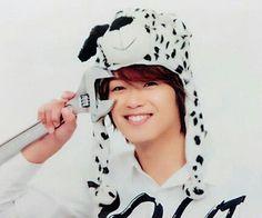 He such a cutie 😍😍😍 // Hey! Say! JUMP - Takaki Yuya
