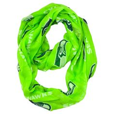 Fashion Scarves Little Earth Team Logo Team Color, Women's, Seattle Seahawks