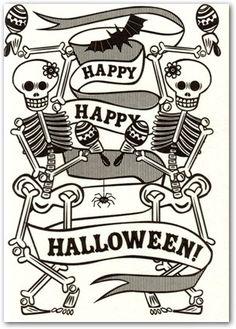 #Happy #Halloween #Card