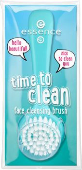 time to clean face cleansing brush - essence cosmetics