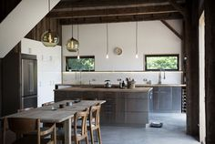 Bovina House - rustic - kitchen - New York - kimberly peck architect Küchen Design, Rustic Design, House Design, Interior Design, Design Ideas, Design Styles, Modern Design, Design Inspiration, Kitchen Inspiration