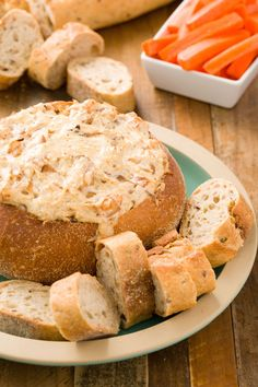 Baked Onion Dip in a Bread Bowl  - Delish.com                              …
