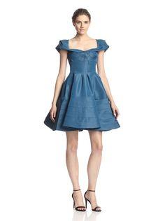 Zac Posen Women's Cap Sleeve Dress, http://www.myhabit.com/redirect/ref=qd_sw_dp_pi_li?url=http%3A%2F%2Fwww.myhabit.com%2Fdp%2FB00YUGB8WO%3F