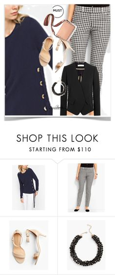 """""""pretty basic"""" by peeweevaaz ❤ liked on Polyvore featuring MICHAEL Michael Kors, Talbots, outfit, polyvoreeditorial and polyvorefashion"""