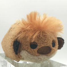 Disney Store Timon Tsum Tsum Plush Stuffed Animal with Tags #Disney Cute Stuffed Animals, Plush, Teddy Bear, Tags, Store, Disney, Ebay, Larger, Teddy Bears