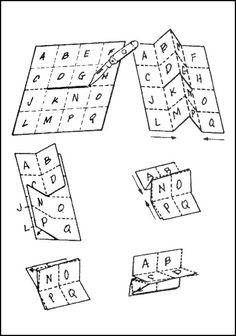 map - folding