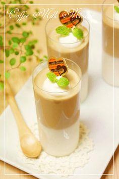 coffee milk mousse