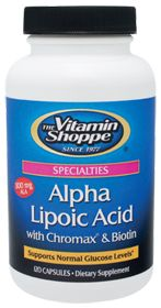 Alpha Lipoic Acid With Chromax & Biotin - Supports normal glucose levels