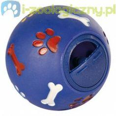 TRIXIE Zabawka dla psa Piłka karmnik 14cm