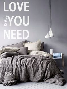 Love Is All You Need Vinyl Wall DecalsQuote Vinyl by FabDecals, $32.00