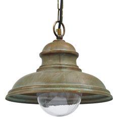 Tuscanor - Brass Porch Pendant Light - TUS1592