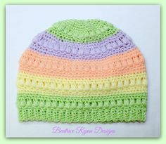 Children's Whimsical Warmth Beanie...Free Crochet Pattern!!