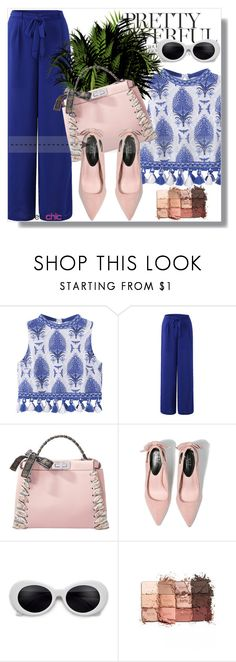 """""""Newchic Anniversary SALE !"""" by dianagrigoryan ❤ liked on Polyvore featuring Fendi and tarte"""