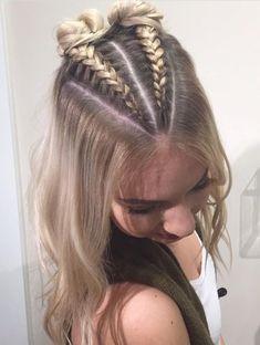 Peinados MELISSA En 2019 Trenzas Cabello Suelto Pelo Trenzado Y - hairstyles trenzas suelto hairstyles trenzas semirecogido French Braid Hairstyles, Box Braids Hairstyles, Pretty Hairstyles, Hairstyle Ideas, Two Buns Hairstyle, Ethnic Hairstyles, Simple Hairstyles, Hairstyles 2018, Creative Hairstyles