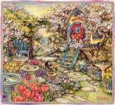 Kim Jacobs; Tulip Garden