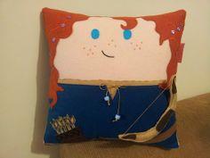 Handmade Brave Merida Disney Princess Stuffed by RbitencourtUSA, $24.95