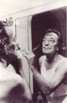 Catalan Surrealist Artist Salvador Dalí.