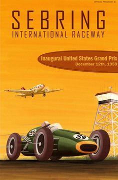 United States Grand Prix, Sebring 1959 ~ John Bradley