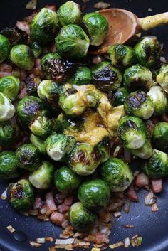 balsamic-roasted brussels sprouts | recipe | ina garten