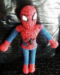 """33 Beğenme, 2 Yorum - Instagram'da Masal's world (@masalsworld): """"Spiderman imizde bitti yeni oyuncaklar bekleyin #amigurumi #amigurumiaskina #amigurumiaşkı…"""""""