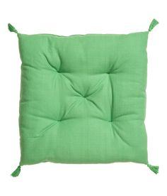 Tupsullinen istuintyyny | Vaaleanvihreä | Home | H&M FI