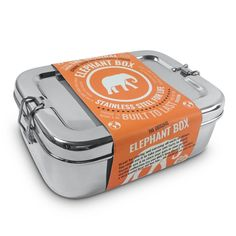 Elephant box stainless steel lunch box
