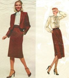 80s Don Sayres Vogue American Designer Sewing by CloesCloset