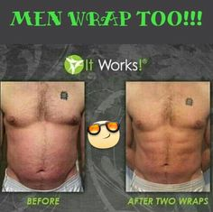 Try our crazy wraps from it works to get the same amazing results text me @ 661-878-5243 or order online @ RandDgettingfit.com