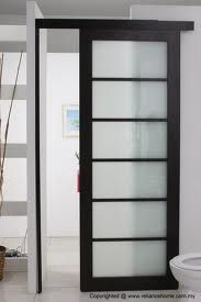 internal sliding doors instead of normal doors- space saver
