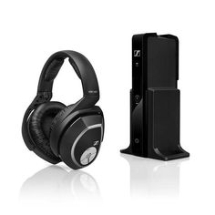 Sennheiser RS 165 Wireless Headphone is perfect for connecting to a TV, receiver, or any other audio device for an excellent wireless headphone experience. Desc