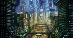 Electric City by e-mendoza.deviantart.com on @deviantART