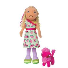 Groovy Girls Style Scents Watermelon-Scented Mia Doll With Taffy The Poodle- $20.00