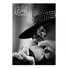 Guns N Roses Microphone Textile Poster - Display a softer side of rocker Axel Rose with this black and white 30 X 40 Guns n Roses Microphone Textile Poster.