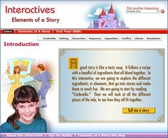 Interactives -- Elements of a Story