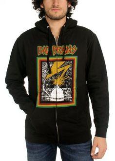 Men's Bad Brains Capitol Zip-Up Hoodie - http://bandshirts.org/product/mens-bad-brains-capitol-zip-up-hoodie/