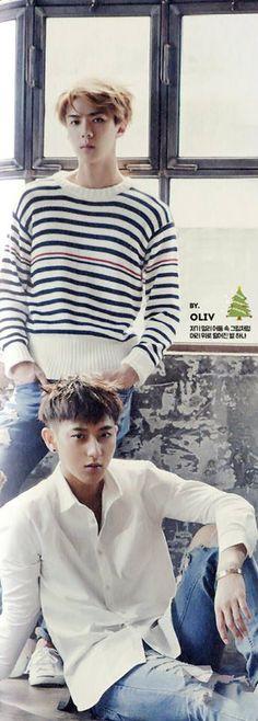 sehun & tao / exo [2015 Season's Greetings Global Version]